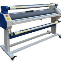 Laminatrice automatica con rullo riscaldabile a 60°C luce Apertura 1700 mm. Larghezza laminabile 1630 mm.