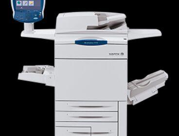 xerox 7755 stampante + consumabili